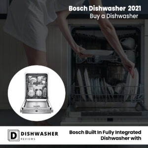 Bosch Built In Fully Integrated Dishwasher with